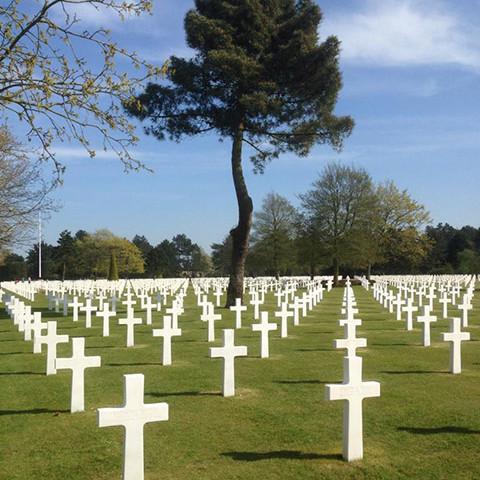 Amerikaanse begraafplaats, D-day, Colleville sur Mer