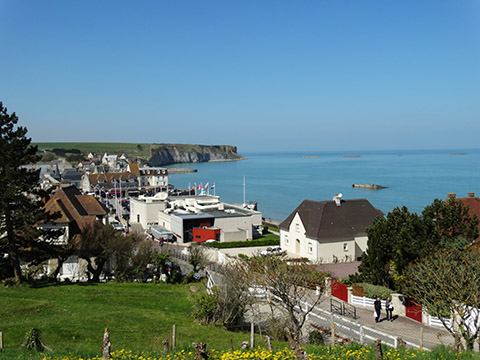 Arromanches, kunstmatige haven D-day